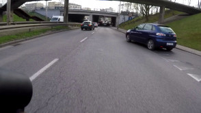Kierowca wymusił, ale potem przeprosił