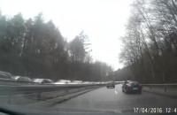 Wypadek na Słowackiego i duży korek