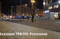 Wrocław: przejście naziemne vs. podziemne