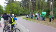 Kibice na trasie gdańskiego maratonu