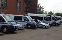 Mnóstwo policji w centrum Gdańska