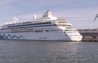Wycieczkowiec AIDAvita w Gdyni