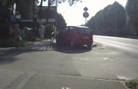 Ciężkie bywa życie rowerzysty na Kartuskiej