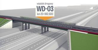 Planowane wiadukty i mosty na budowanej ekspresowej