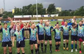 Rugbiści Ogniwa z brązowymi medalami MP