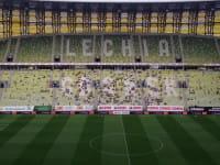 Prezentacja Lechii Gdańsk w 2015 roku przed meczem z Schalke