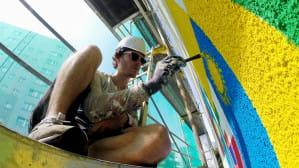 Jak powstają prace ostatniego Monumental Art?