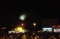 Pokaz fajerwerków na Targu Węglowym