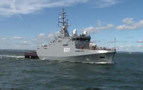 Najnowszy polski niszczyciel min Kormoran