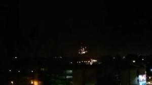 Pokaz fajerwerków nad Twierdzą Wisłoujście