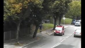 Pościg za rowerzystą w Gdyni