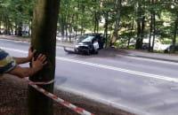 Wypadł z trasy na sopockim wyścigu