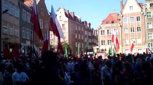 Okrzyki przeciwko Lechowi Wałęsie podczas pogrzebu Inki