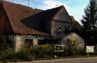 Opuszczony dom z 1861 roku