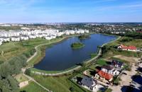 Zbiornik Świętokrzyska 2 z lotu ptaka