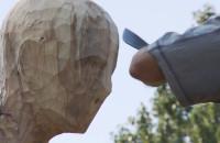Migranci - Plener Rzeźby z drewna