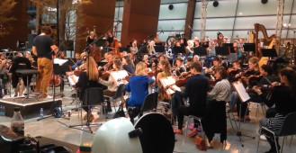Próby przed Europejskim Koncertem Wolności w ECS