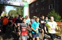Start biegu na 5 km - GP Dzielnic Gdańska na Siedlacach