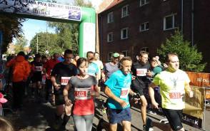Start biegu na 5 km - GP Dzielnic Gdańska na Siedlcach