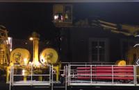 Pociąg naprawczy pracuje w Gdyni