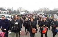 Manifestanci w Gdyni