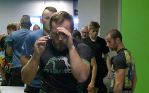 Trening kondycyjny z Piotrem Hallmanem