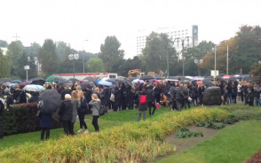 Podsumowanie gdyńskiego protestu na Skwerze Kościuszki