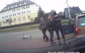 Potrącenie rowerzysty w Letnicy