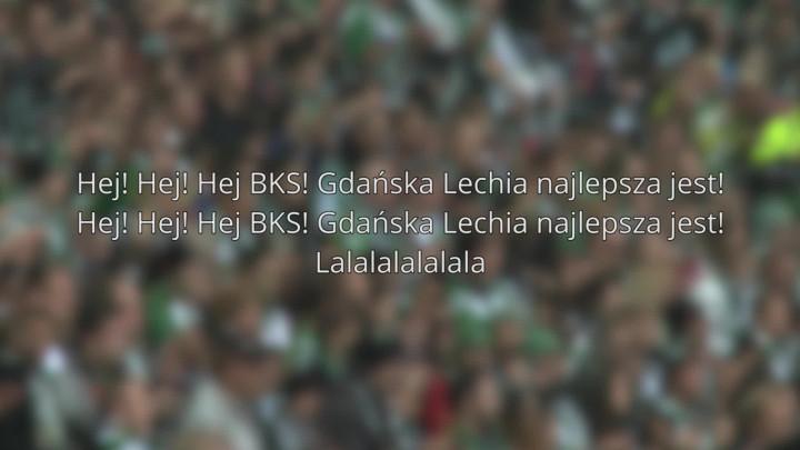 ... natomiast biało-zieloni zaśpiewają Hej BKS
