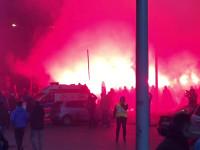 Race przed stadionem miejskim w Gdyni
