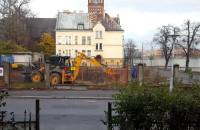 Prace budowlane przy ul. Konopnickiej we Wrzeszczu