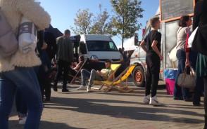 Festiwal food trucków przyciągnął tłumy