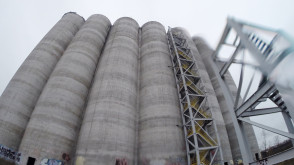 Opuszczone silosy na Stogach