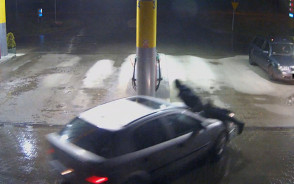 Pijany kierowca potrącił pracownika stacji