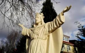 Pomnik Chrystusa odsłonięty