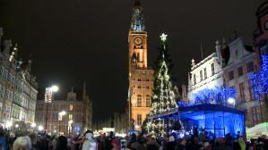 Św. Mikołaj przybył do Gdańska - Gdańska Choinka 2016