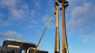 Trwa przegląd techniczny Pomnika Poległych Stoczniowców