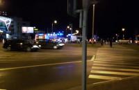 Wypadek na skrzyżowaniu ulic