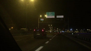 Wypadek na drodze Zielonej koło stadionu