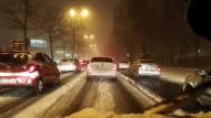 Grunwaldzka w śniegu