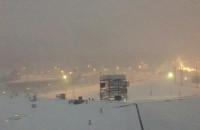Havla kompletnie zakorkowana i w śniegu