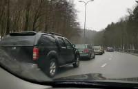 Kolizja 6 samochodów na Słowackiego