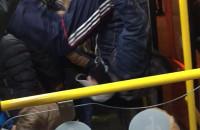 Wyjście fikołkiem z tramwaju