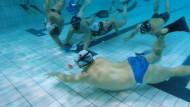 Zawody w hokeja pod wodą