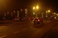 Wypadek trzech aut na Przymorzu