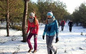 Zimowa wędrówka przez Bory Tucholskie