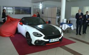 Pierwszy w Polsce Abarth 124 Spider trafił do Gdyni