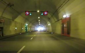 Tak wygląda jazda 70 km/h w tunelu pod Martwą Wisłą