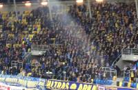 Doping dla Arki Gdynia w meczu z Koroną Kielce