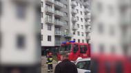 Usuwanie skutków zadymienia mieszkania przy ul. Hausbrandta 38
